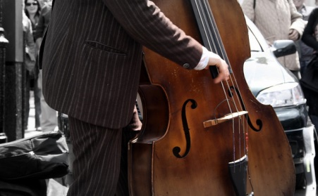 Double Bass Playing